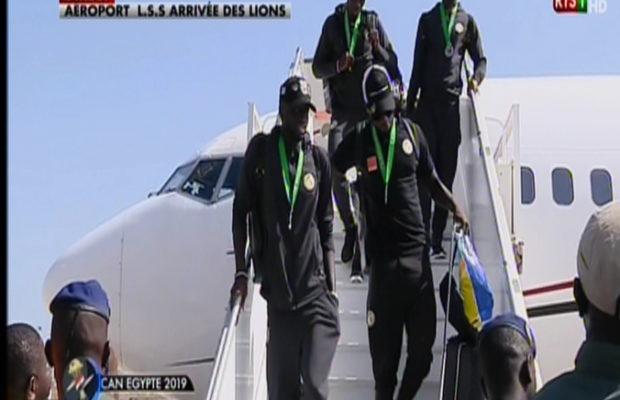 CAN 2019 – Sénégal: le retour des vice-champions d'Afrique en images !