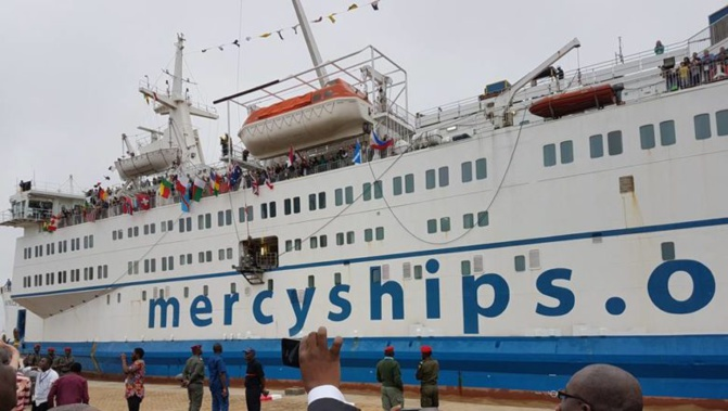 « Mercy Ships » à Dakar : La sélection des patients débute à Diourbel