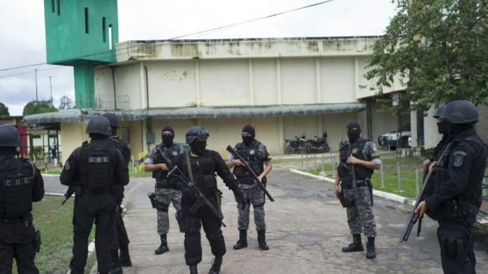 Brésil: Une mutinerie dans une prison fait au moins 52 morts