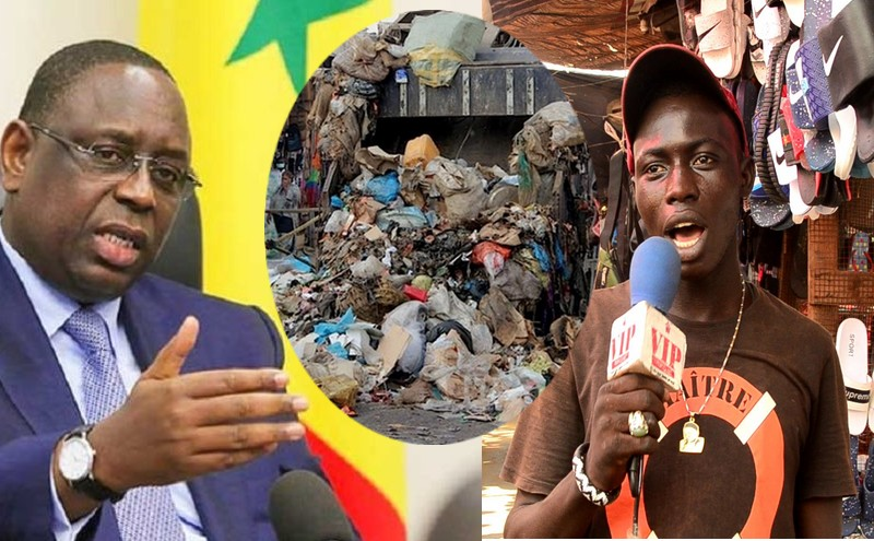 SAMA GUISS GUISS: Macky Sall pour un Sénégal zéro déchet bidonville, Pikine réagit.