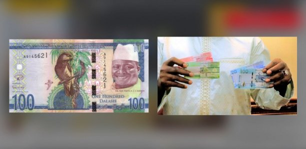 Gambie : Le portrait de l'ex-président Jammeh retiré des nouveaux billets de banque