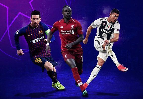 Sadio Mané nommé parmi les trois prétendants au titre de meilleur attaquant de la dernière édition de UEFA Champions League. avec Lionel Messi et Cristiano Ronaldo