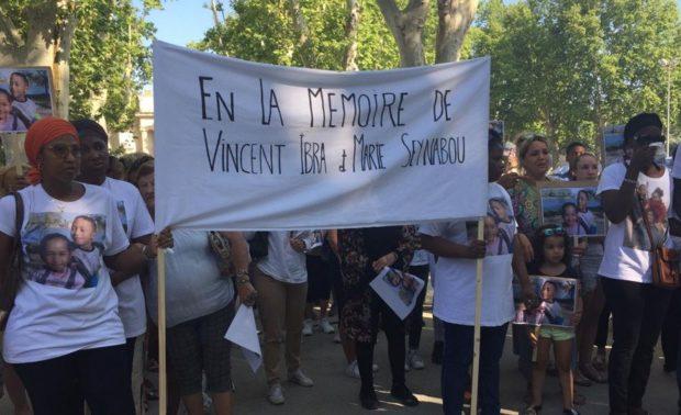 Double infanticide à Beaucaire: une marche blanche en hommage à Ibrahima et Seynabou, tués par leur père
