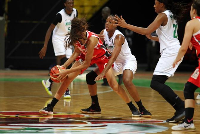 Afrobasket féminin: début en fanfare du Nigéria