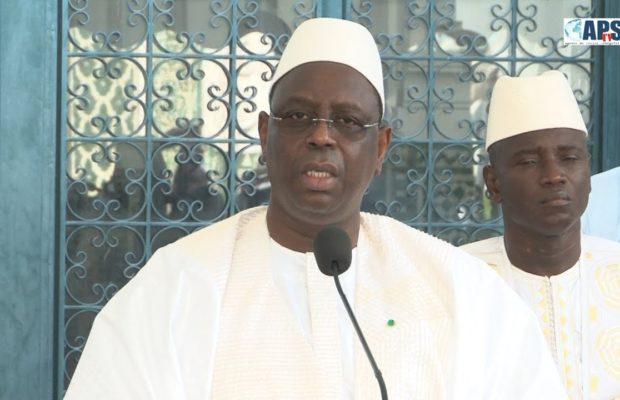 Tabaski 2019 : Le message du chef de l'Etat aux Sénégalais