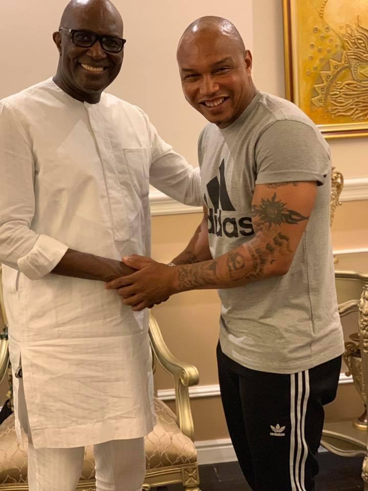 Quand Aliou Cissé et El Hadj Diouf se retrouvent chez le Milliardaire Babacar Ngom
