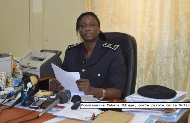 Commissaire des parcelles qui était en train de malmener un pharmacien: LA RÉACTION OFFICIELLE DE LA POLICE
