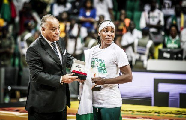 Ezzine Kalu, MVP Afrobasket 2019 : « je suis très heureuse »