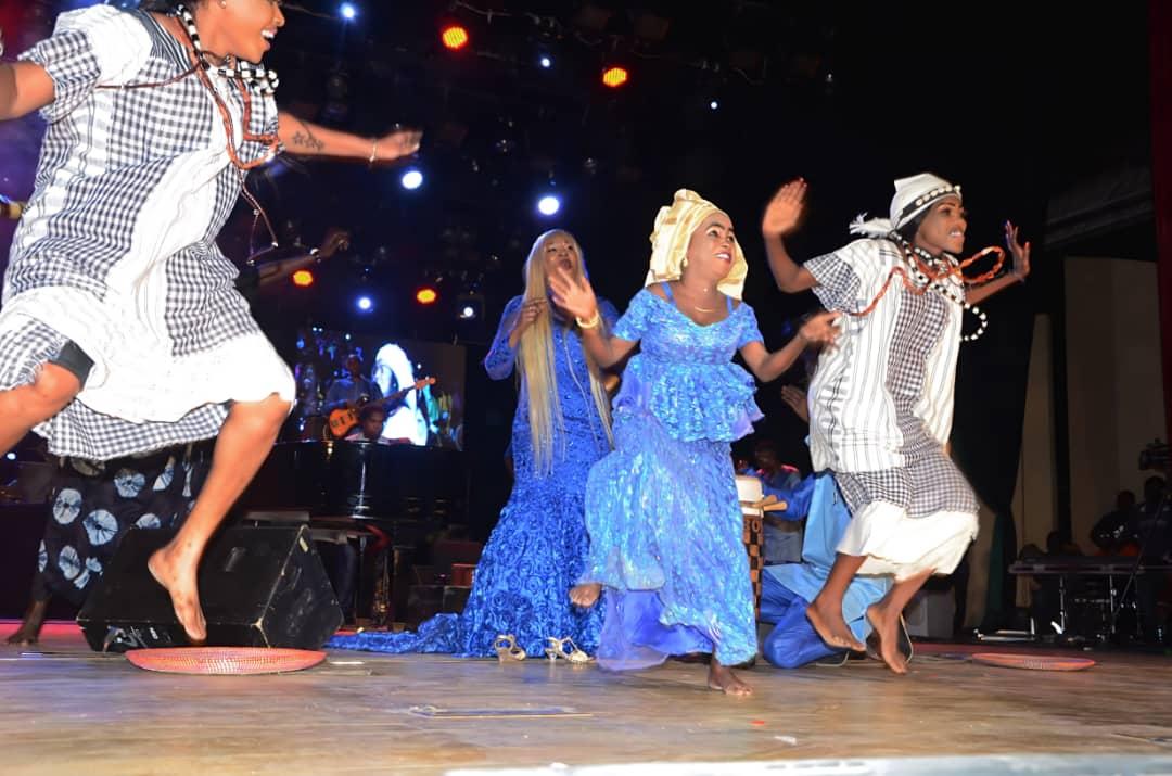Sénégal: Sublime, gigantesque, flamboyante Titi au Grand Théâtre de Dakar.