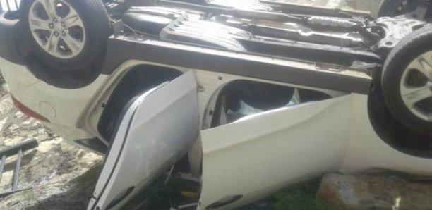 Accident de la route à Kaffrine: un 4X4 se renverse et fait 3 morts