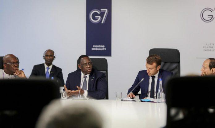 07 photos - Sommet G7 : Les images exclusives de la session dédiée à l'Afrique