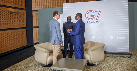 Sommet G7 : Macky Sall « Je me ferai toujours le devoir de mobiliser la solidarité nationale pour aider les moins favorisés à desserrer l'étau de la solitude face à la précarité et au besoin »