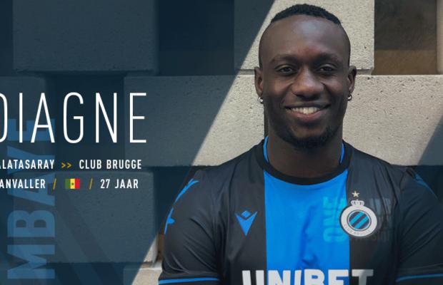 Mbaye Diagne signe au Club Bruges