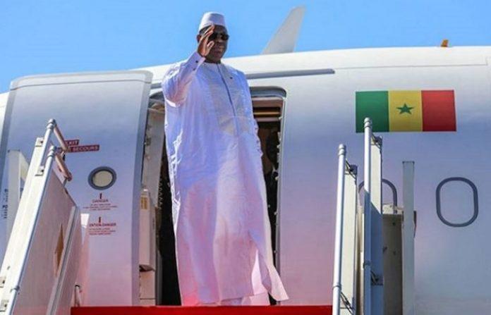 Macky Sall a quitté Dakar pour participer au Forum Investir en Afrique au Congo
