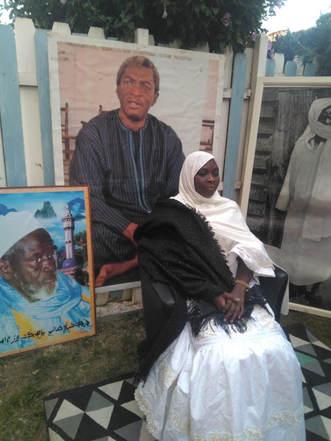 Sokhna Maï Lahad Mbacké Bintou Cheikh Abdou Karim en tournée en Europe