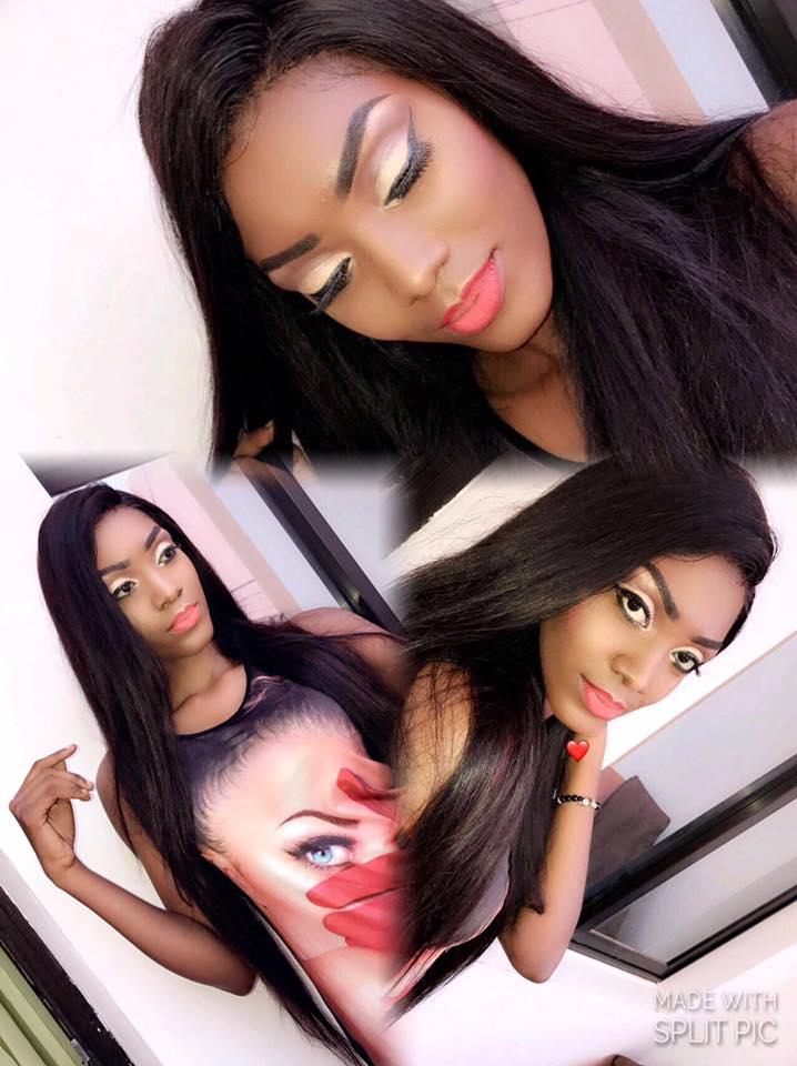 Maman Mbaye la charmante épouse de l'international Zarco Touré ,  n'a pas de limite aux yeux pétillants … Admirez!!!