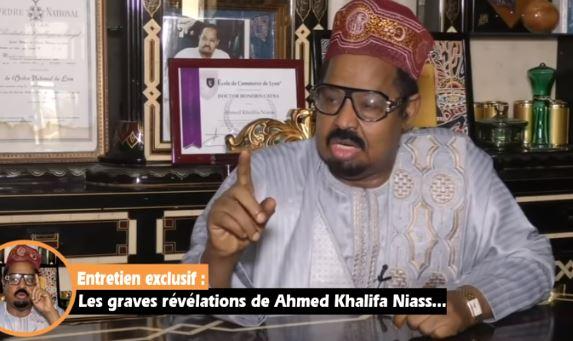 Urgent- Histoire générale du Sénégal : Après la déclaration du porte parole de Médina Baye , Ahmed Khalifa Niass fait une grosse annonce !