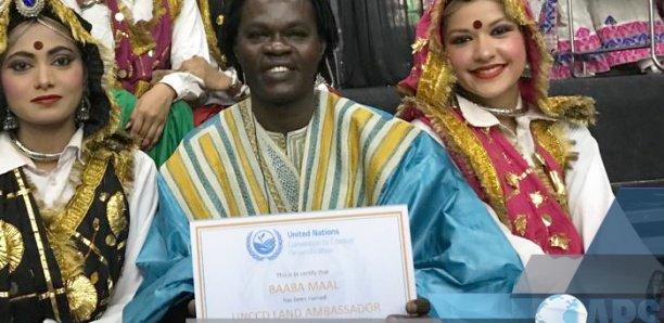 Le ministre de la Culture félicite Baaba Maal pour son titre d'd' »ambassadeur de l'ONU contre la désertification