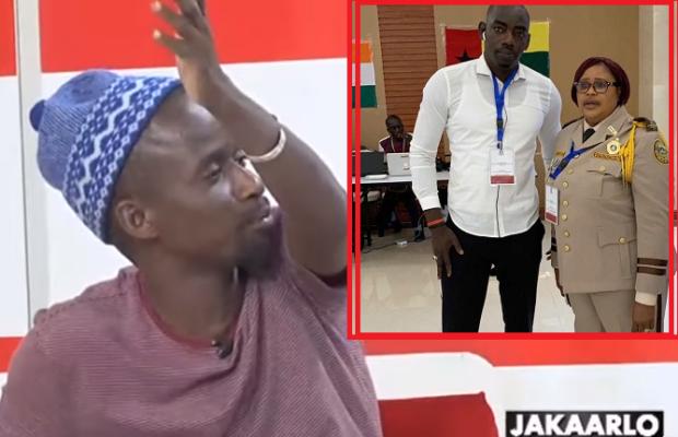 Vidéo: Fou Malade raille Cissé Lo sur l'invitation de Niang Kharagne Lô à Monrovia