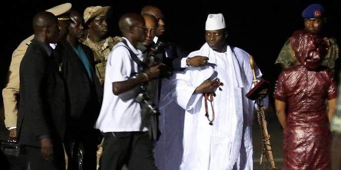 Gambie: l'ex-président Jammeh accusé d'avoir détourné plus de 300 millions de dollars