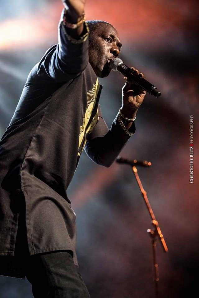 Les images inédits du concert de Youssou Ndour au FOREST NATIONAL DE BRUXELLES: SENEGAL REK LE SLOGAN.
