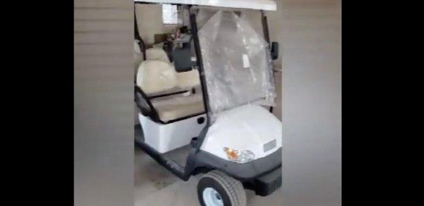 INAUGURATION MASSALIKOUL DJINANE : Découvrez le véhicule avec lequel le Khalife des Mourides va visiter la mosquée