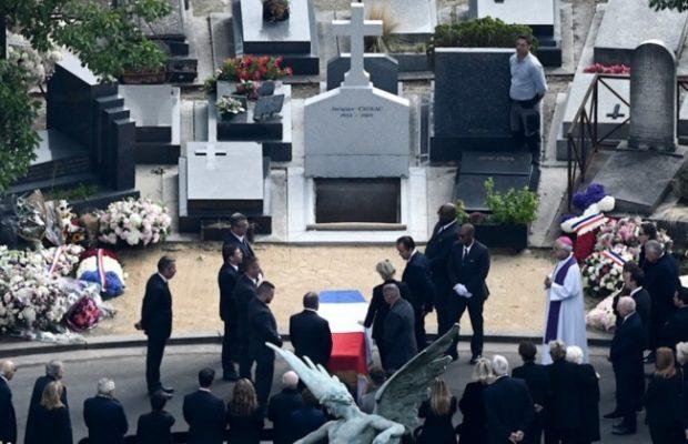 Jacques Chirac inhumé au cimetière du Montparnasse, aux côtés de sa fille