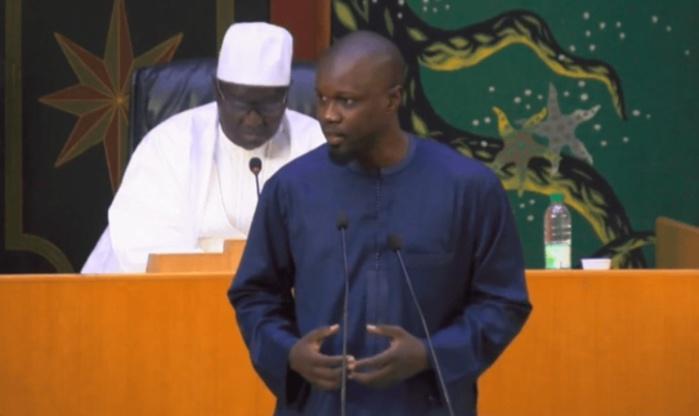 Affaire des 94 milliards FCfa: Sonko n'a pas boudé l'Assemblée, hier