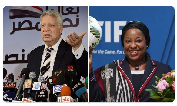 LDC/CAF: Le président de Zamalek menace Fatma Samoura : « vous verrez qui est le président de Zamalek »