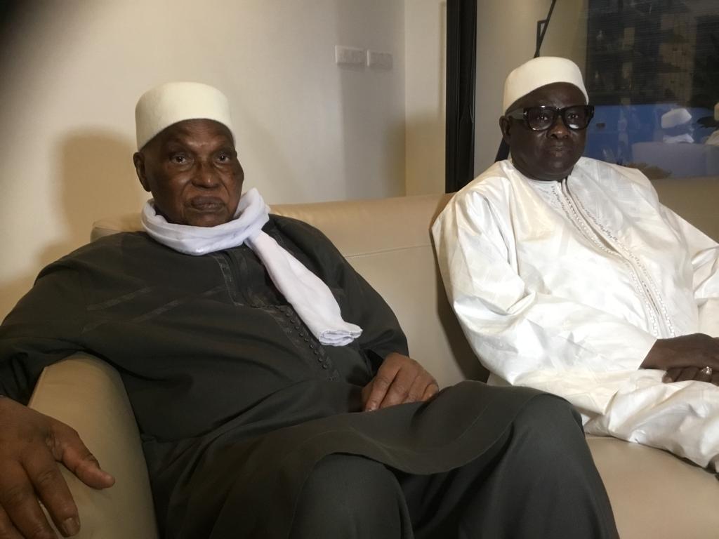 Visite de courtoisie du président de Bokk Gis Gis Pape Diop chez Me Abdoulaye Wade ce lundi 7 octobre 2019