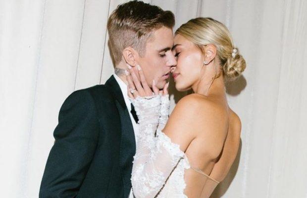 Mariage de Hailey et Justin Bieber : Premières photos, longue robe somptueuse