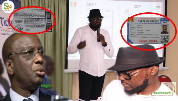 Scandale-conception de cartes de presse: Le ministre de la communication octroie le marché à un ancien rappeur