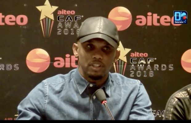 Samuel Eto'o rêve de remporter la coupe du monde avec le Cameroun, en tant qu'entraîneur