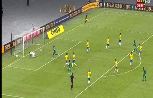 Amical Sénégal vs Brésil: Famara Diedhiou égalise à la 45e minute. Regardez Le but