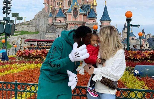 Disneyland Paris: M'Baye Niang en famille