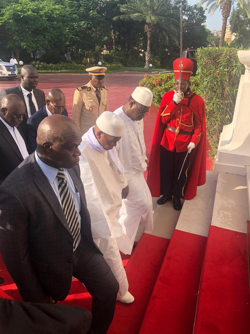 Palais de la République : Me Wade accueilli par le président Macky Sall