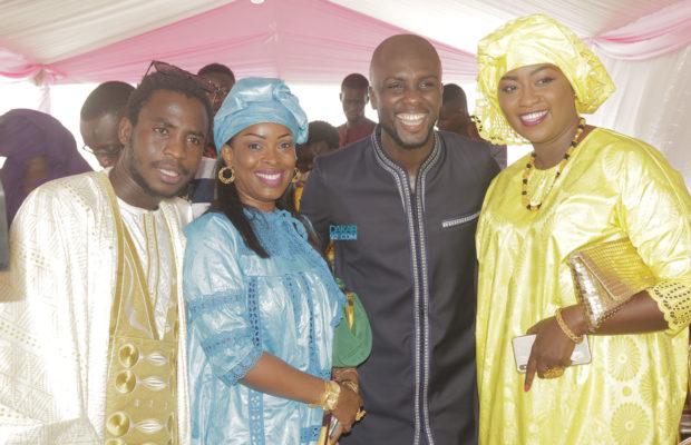 Les images du baptême de Issa Diama Camara, Fille de Abba No Stress,les célébrités ont répondu à l'appel