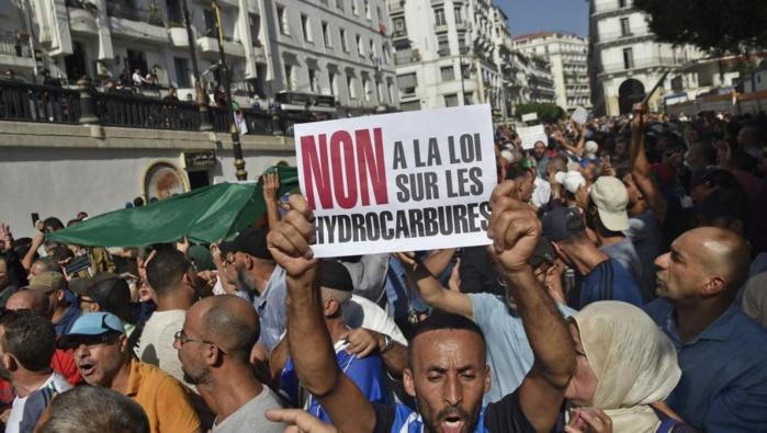 Algérie: Manifestations contre la nouvelle loi sur les hydrocarbures