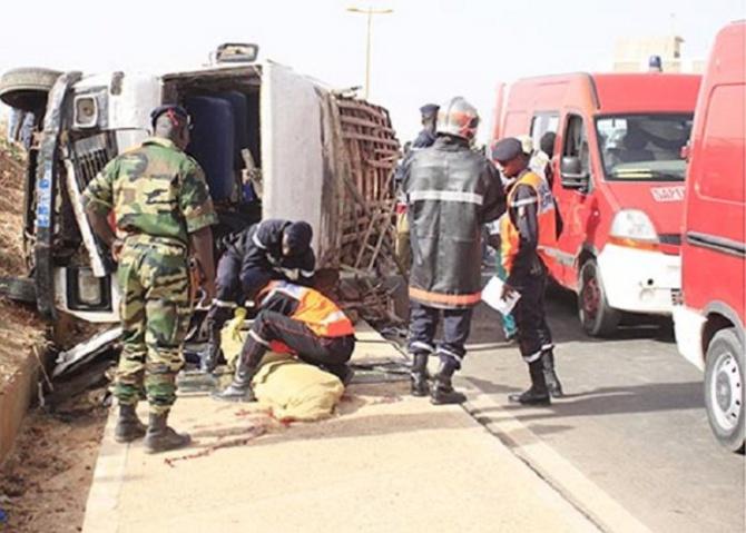 Bambey-Khombole: Un accident de la circulation fait 5 morts