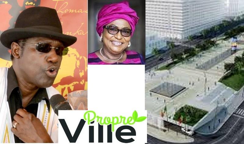 VIDÉO: L'artiste Idrissa Diop pour une campagne Dakar propre.