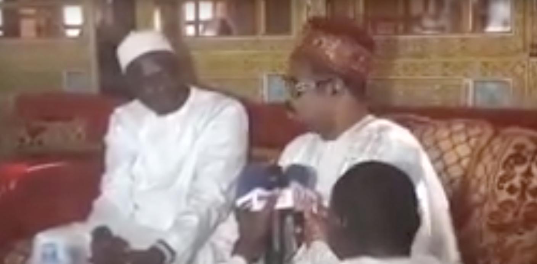 VIDÉO: Khalifa Sall chez Ameth Khalifa Niasse pour présenter ses condoléances suite aux décés de son frére Sidy Lamine et son épouse.