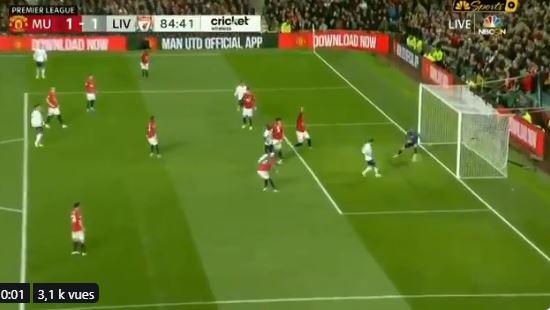 Lallana égalise pour Liverpool et douche les espoirs de Man U (1-1)
