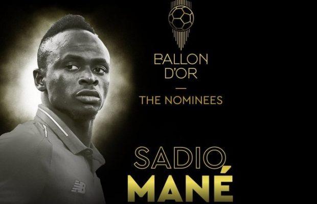 Officiel- Ballon d'or France Football: Sadio Mané parmi les premiers nominés !