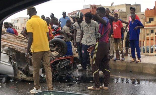 Souleymane Diatta, Le militaire tué lors d'un violent accident à Pout