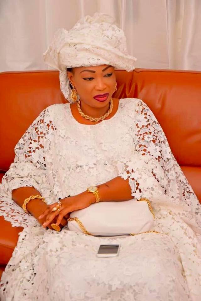 Sokhna Fatou Bintou, la charmante épouse de Serigne Abdou Karim Mbacké a encore une fois mis les bouchées doubles