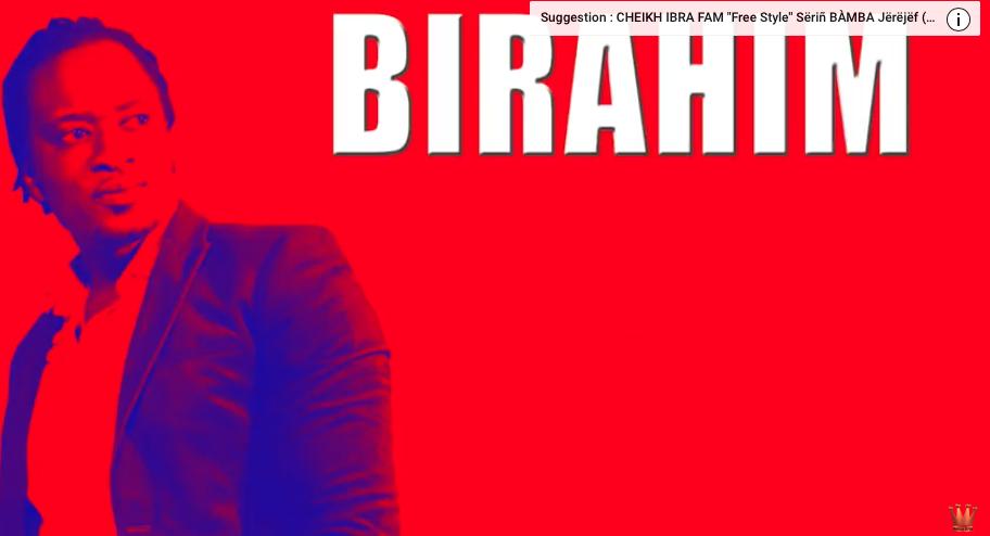 "COME BACK: Birahim SIGNE SON RETOUR EN FORCE AVEC ""Naxante bi"""