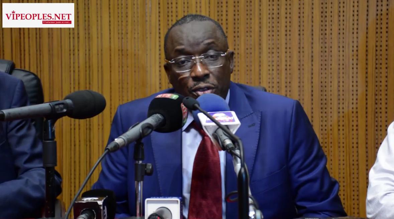 Cheikh Oumar Anne, ministre de l'enseignement supérieur se félicite de (IRD) Sénégal et leur...