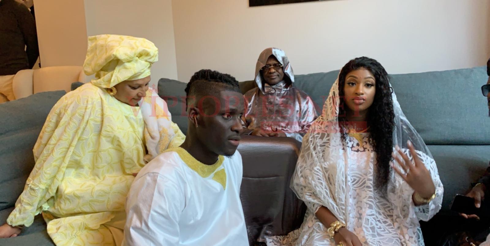 Les images du baptême de la fille de Kara Mbodj avec Fatou Mbaye, l'ex miss Sénégal France….