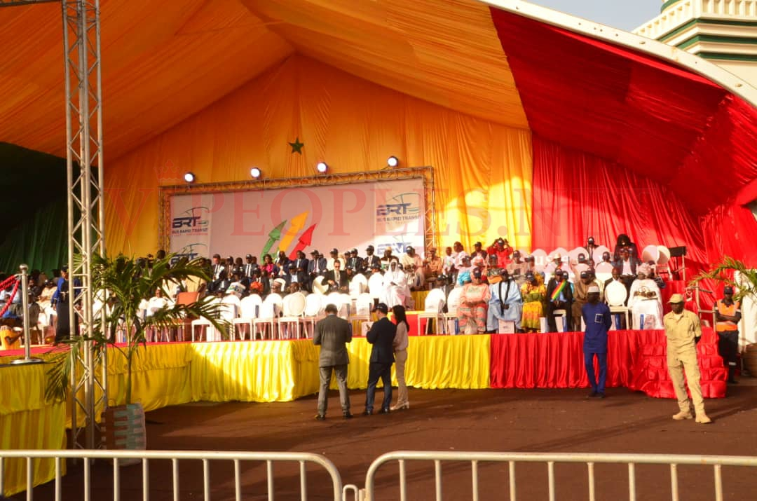 81PHOTOS - Lancement BRT, les images de la cérémonie