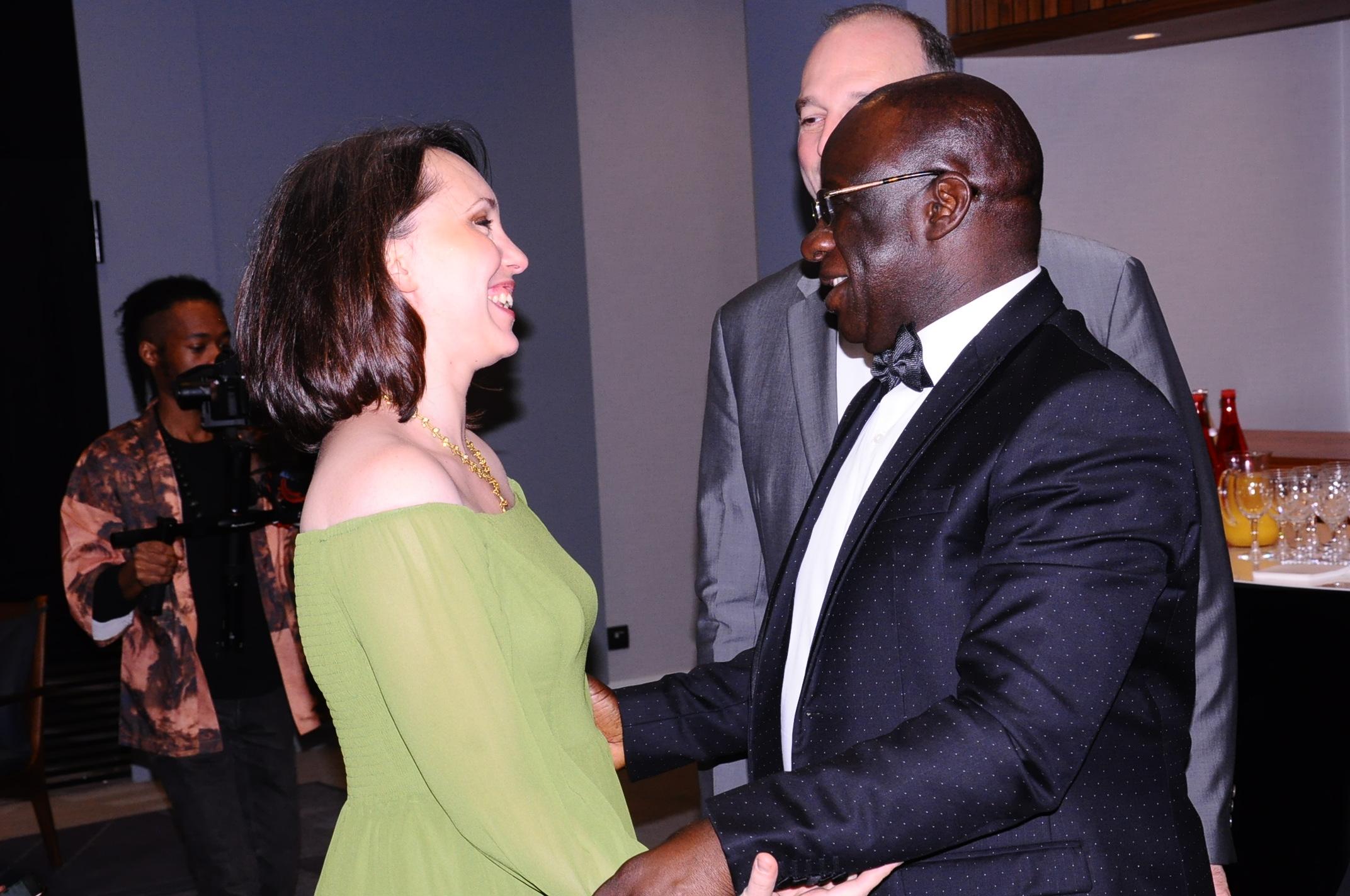 Les premières images de la soirée des African Leadership Award à Paris avec le groupe Promo Consulting.